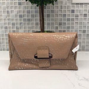 KOOBA NWT Ruby Leather Crossbody Wallet